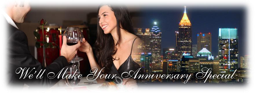 Pasadena anniversary limo service