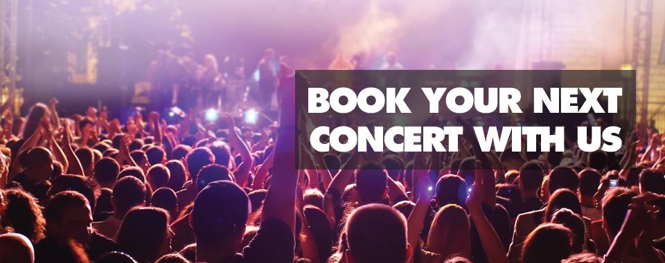 Concert limo service Pasadena
